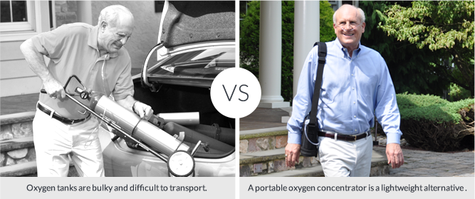 Do You Ever Wonder Whats The Difference Between A Portable Oxygen Tank And Concentrator