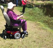Fishing with an Inogen One portable oxygen concentrator